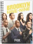 Brooklyn Nine-Nine Cast Members Notebook