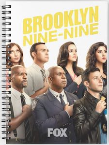 Brooklyn Nine-Nine Cast Members Notebook
