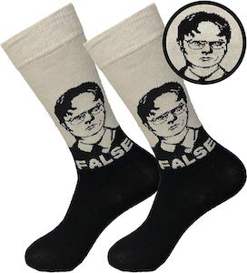 Dwight False Socks