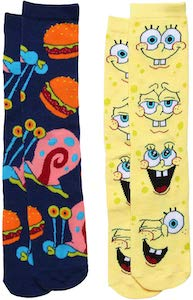 Gary And Spongebob Socks