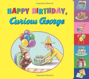Happy Birthday Curious George Book