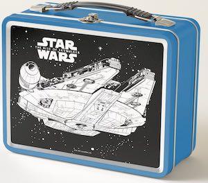 Star Wars Millennium Falcon In Space Lunch Box