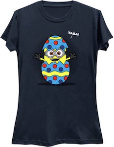 Despicable Me Minion Inside An Easter Egg T-Shirt