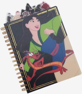 Disney Mulan Notebook
