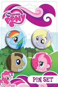My Little Pony Pin Set