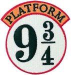 Harry Potter Platform 9 3/4 Clothing Patch