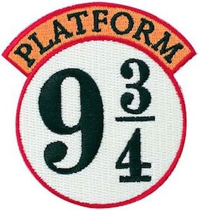Platform 9 3/4 Clothing Patch