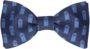 Doctor Who Tardis Bow Tie