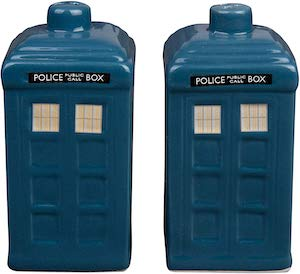Doctor Who Salt And Pepper Set Of The Tardis