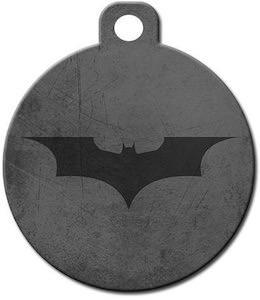 Batman Logo Pet ID Tag