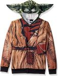 Star Wars Yoda Costume Hoodie For Kids