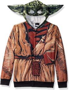 Yoda Costume Hoodie For Kids