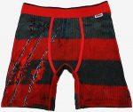 A Nightmare On Elm Street Striped Boxers
