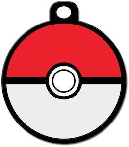 Poke Ball Pet ID Tag