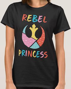 Star Wars Women's Rebel Princess T-Shirt