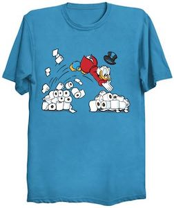 Scrooge McDuck Toilet Paper T-Shirt