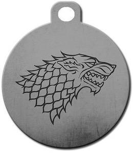 Stark Logo Pet ID Tag