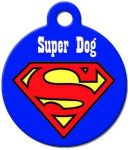 DC Comics Superman Pet ID Tag