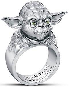 Star Wars Sculptured Yoda Ring