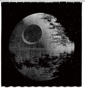 Death Star Shower Curtain