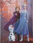 Disney Frozen Anna, Elsa, And Olaf Fall Puzzle