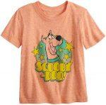 Kids Orange Scooby-Doo T-Shirt