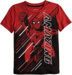 Kids Red Amazing Spider-Man T-Shirt