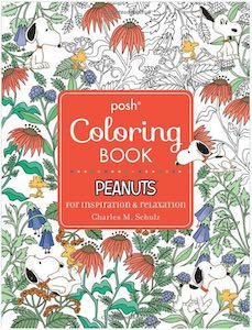 Peanuts Adult Coloring Book