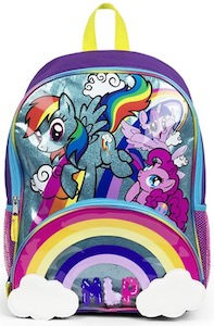 Sparkly My Little Pony Backpack