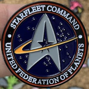 Starfleet Command Pin