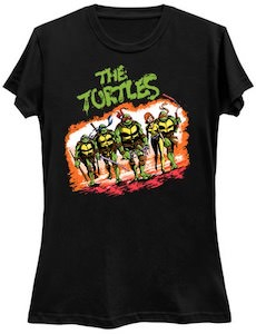 TMNT The Turtles And April T-Shirt