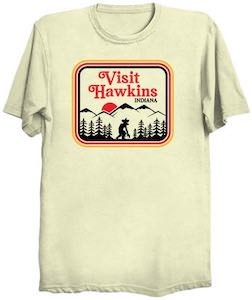 Stranger Things Visit Hawkins Indiana T-Shirt