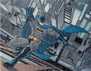 Batman Scaling A Building Puzzle