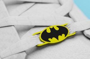 Batman Symbol Lace Locks