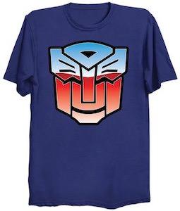 Happy Autobot T-Shirt