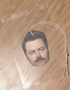 Ron Swanson Air Freshener