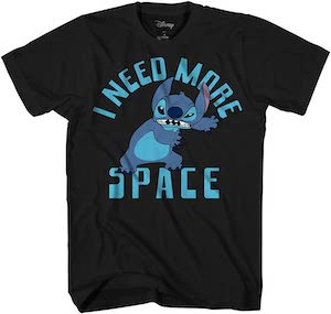 Stitch I Need More Space T-Shirt