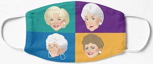 The Golden Girls Face Mask