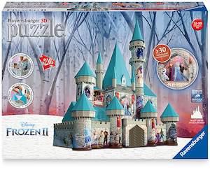 Frozen 3D Castle Puzzle