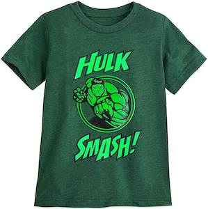 Kids Hulk Smash T-Shirt