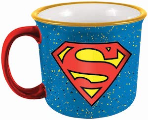 Superman Flaked Mug