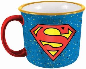 Superman Flaked Mug