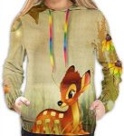 Disney Women's Bambi Hoodie