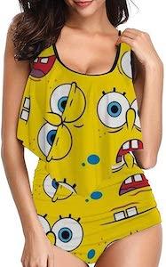 Women's SpongeBob Bikini Set