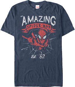 Marvel Amazing Spider-Man Est 62 T-Shirt