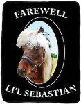 Parks And Recreation Farewell Lil'l Sebastian Blanket