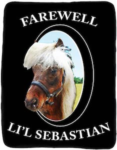 Parks And Recreation Farewell Lil'l Sebastian Blanket