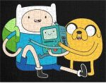 Adventure Time Finn, Jake, And BMO Puzzle