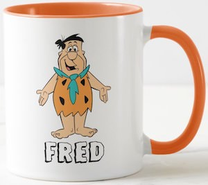 The Flintstones Fred Flintstone Mug