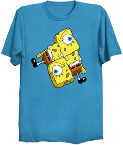 Mixed Up SpongeBob T-Shirt